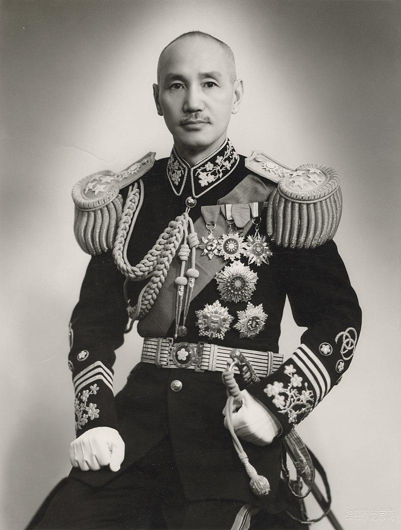 Tchang Kaï-Chek en 1943