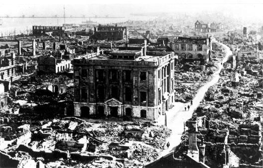 Tremblement de terre du Kanto en 1923 - Tokyo détruite