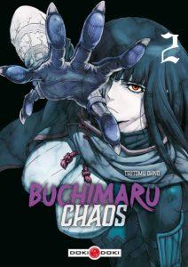 Couverture du tome 2 de Buchimaru Chaos chez Doki Doki
