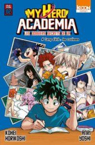 Couverture du 2e Light Novel MHA