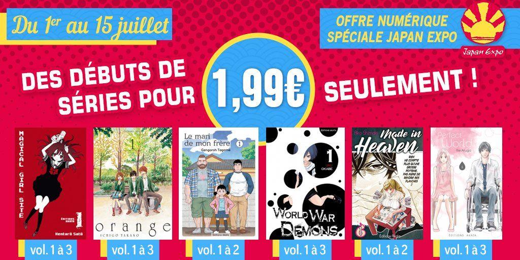 Akata goodies solde manga numérique