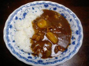 Image d'un curry rice japonais