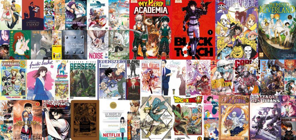 Ventes Manga France 2018
