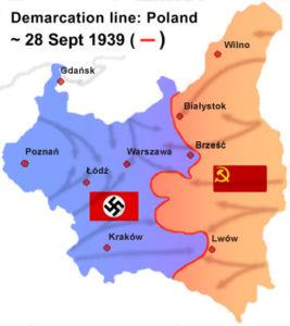 Invasion de la Pologne par l'Allemagne nazie et l'URSS