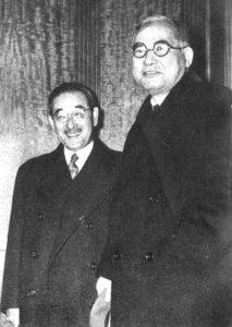 Saburo Kurusu et Kichisaburo Nomura