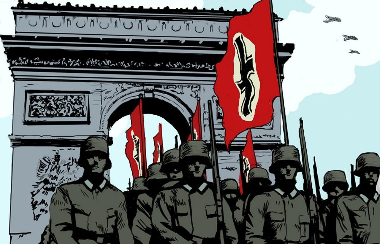 La défaite française et l'occupation allemande