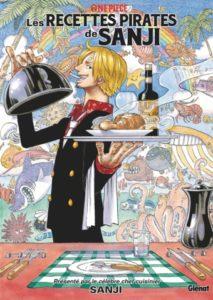 One Piece, Les recettes pirates de Sanji aux éditions Glénat : couverture