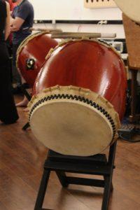 Un tambour japonais : taiko ou wadaiko