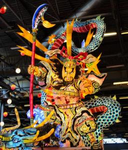 Lanterne géante de dieu shintô - © Journal du Japon