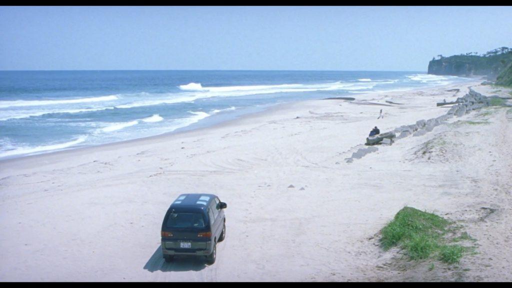 La plage, lieu de la fin du voyage,©Hana-bi, 1997