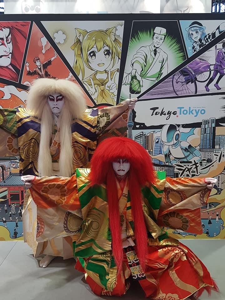 Renjishi au stand Tokyo Tokyo
