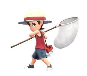 Scout dans Pokémon : Let's Go (Pikachu ou Evoli)