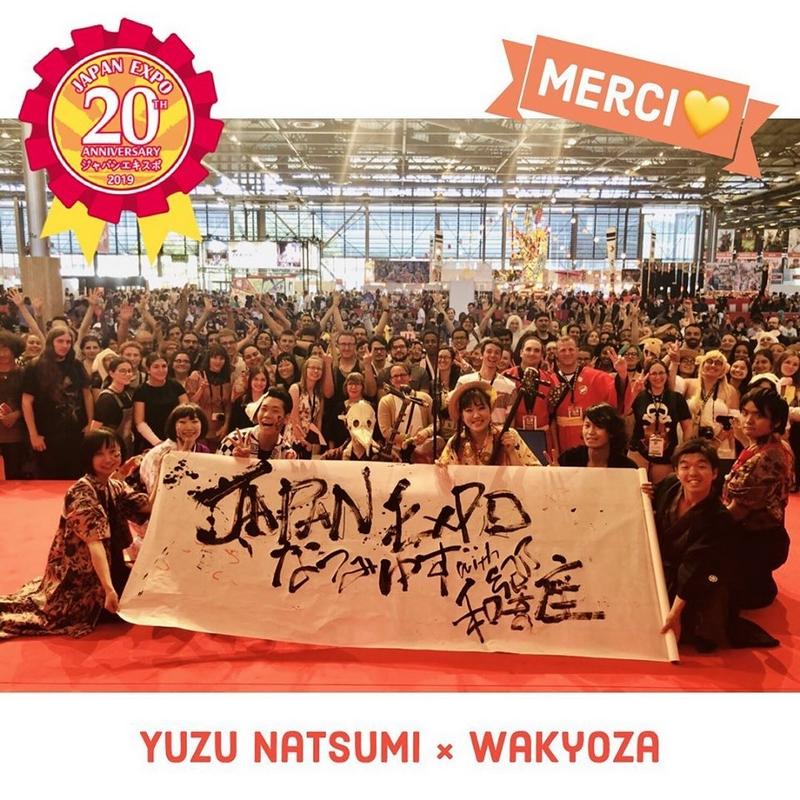 Yuzu Natsumi x Wakyoza Japan Expo 2019 - scène Sakura