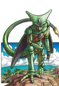 Illustration de Cell dans Dragon Ball Z