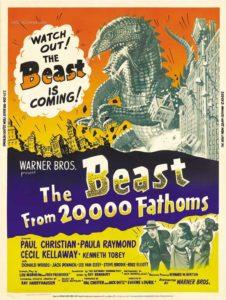 Affiche du film Le Monstre des temps perdus sorti en 1953