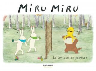 Miru Miru Le concours de peinture : couverture