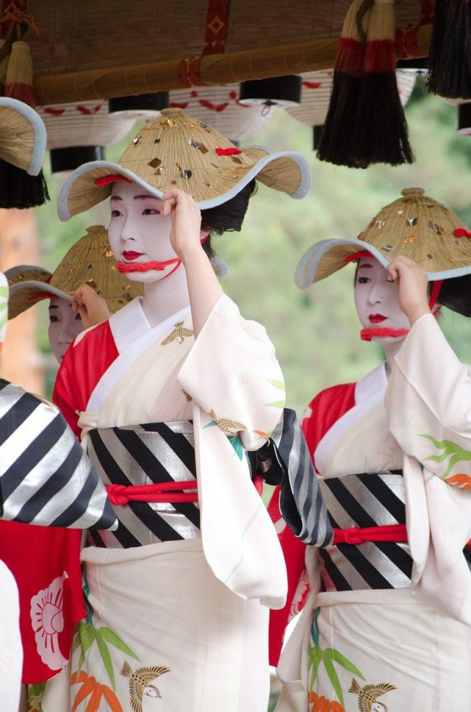 Les costumes traditionnelles sont portés lors des festivals