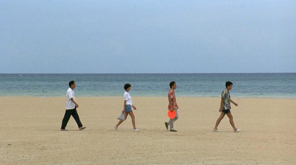 Murakawa et son gang de Yakuzas, version plage ©Sonatine, 1995