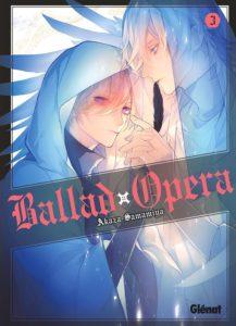 Couverture du tome 3 de Ballad Opera