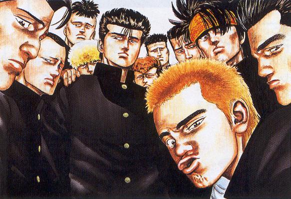 La bande de Racailles Blues, classique du furyô manga