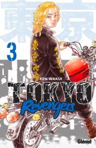 Couverture du tome 3 de Tokyo Revengers