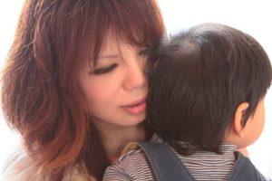 Maman et enfant japonais -