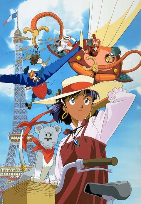 Nadia à Paris, le début de l'aventure