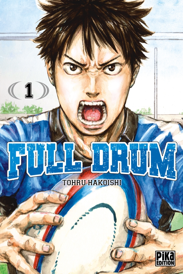 Couverture du tome 1 de Full Drum