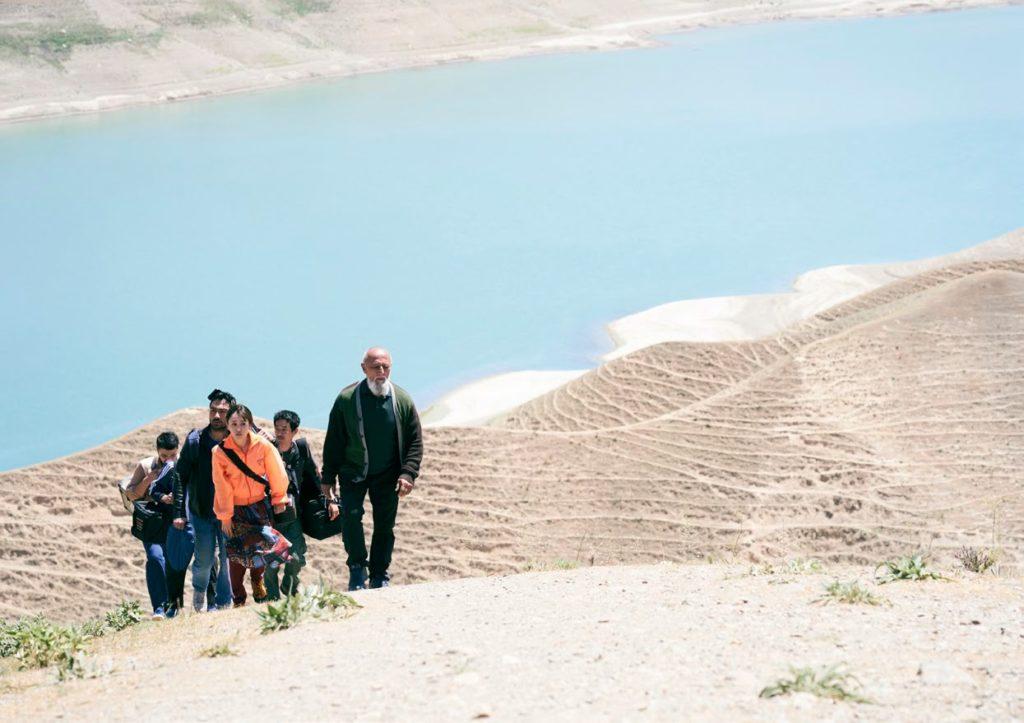 Au bout du monde, Yoko, Ouzbékistan, lac