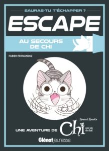Escape Au secours de Chi chez Glénat jeunesse