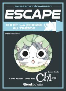 Escape Chi et la chasse au trésor chez Glénat jeunesse