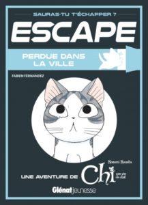 Escape Chi perdue dans la ville chez Glénat jeunesse