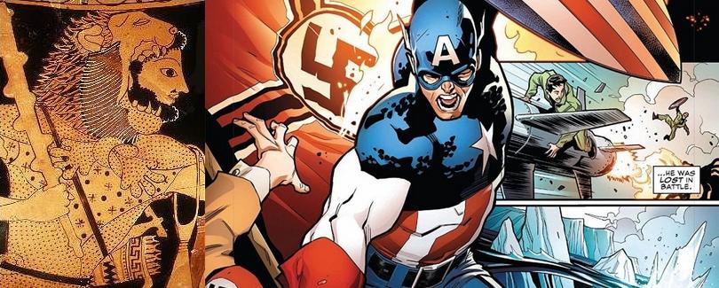 D'Héraclès, héros de l'Antiquité à Captain America, héros des temps modernes