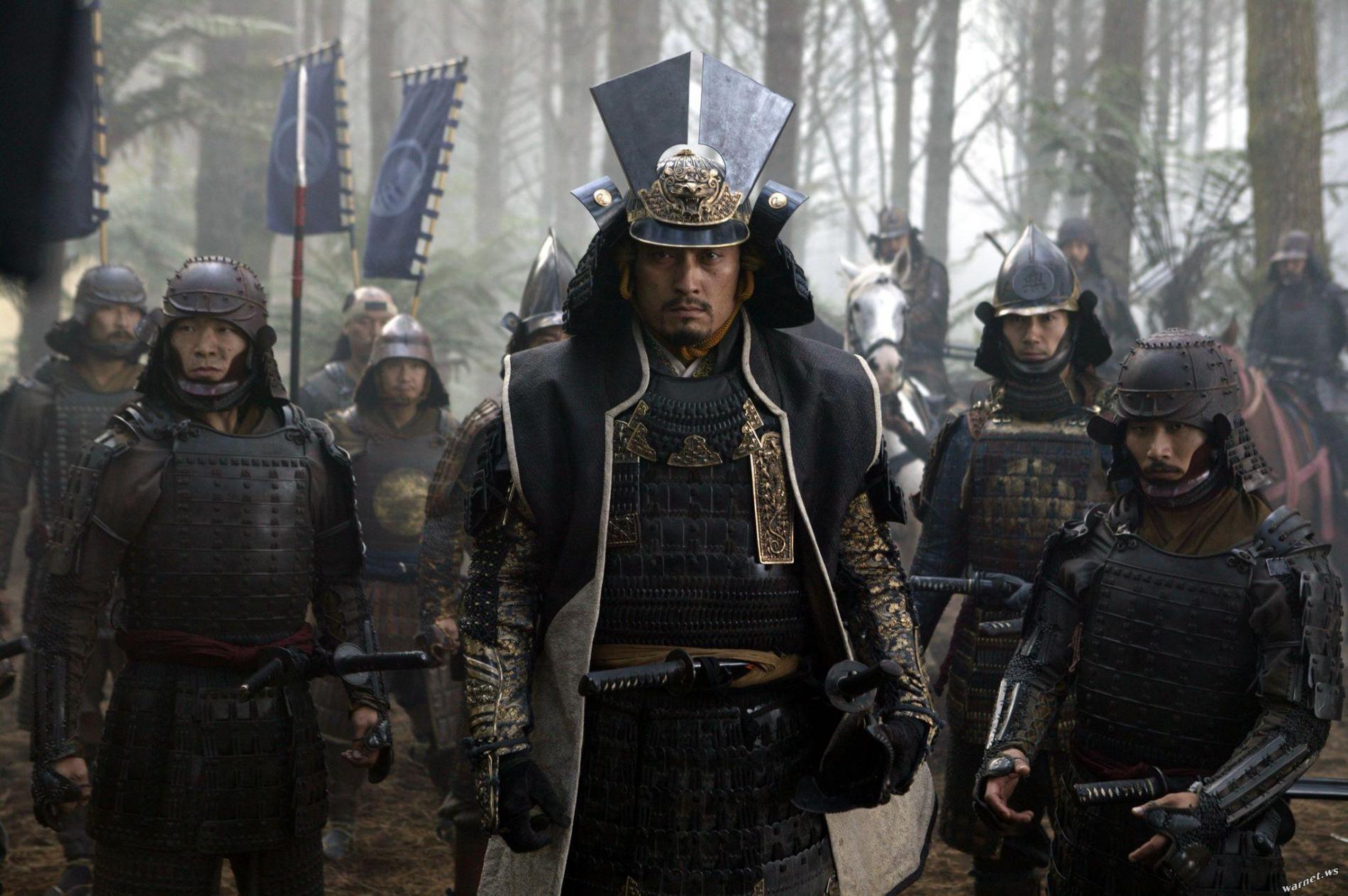 Katsumoto (Ken WATANABE), personnage inspiré de l'histoire de Takamori SAIGÔ dans Le dernier Samouraï