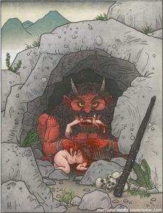 Oni, démon japonais