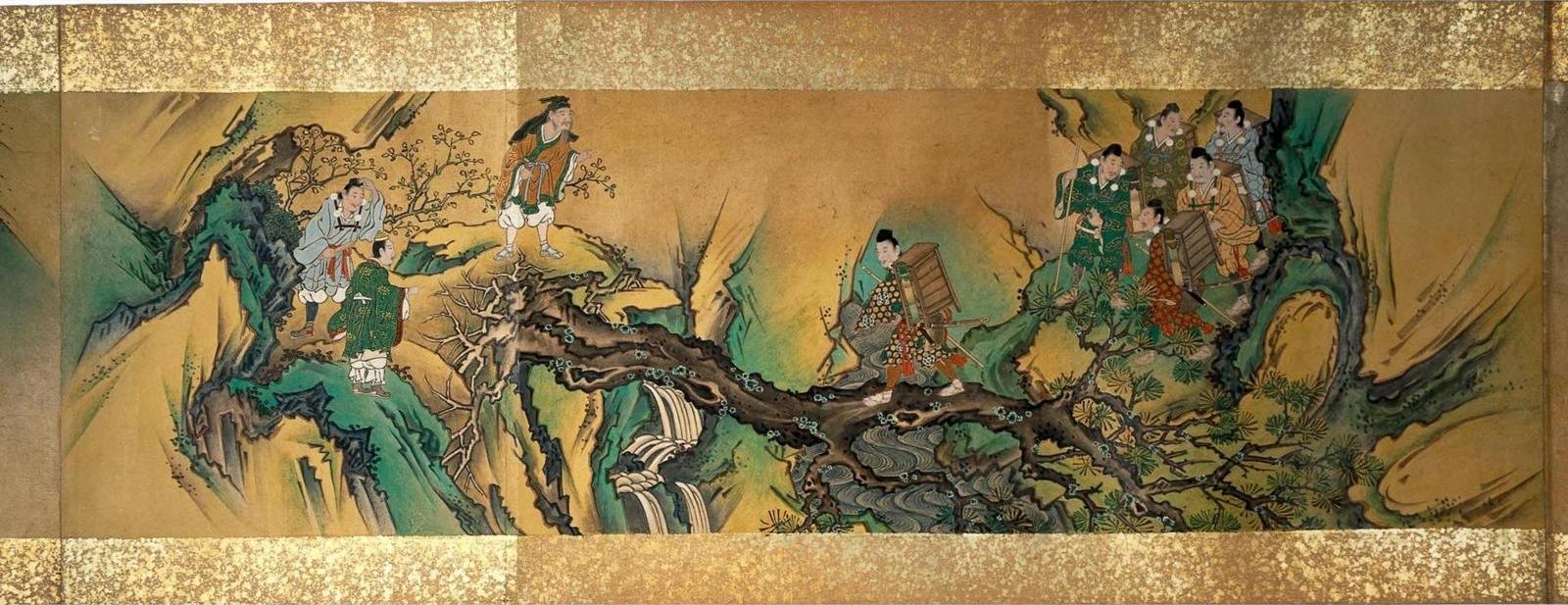 Yorimitsu et Shuten Dôji