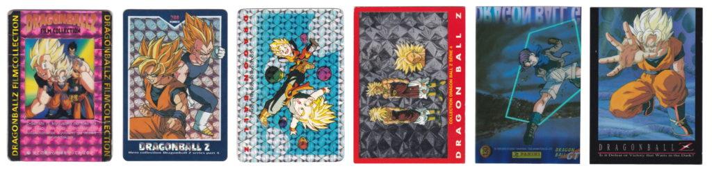 Cartes Dragon Ball