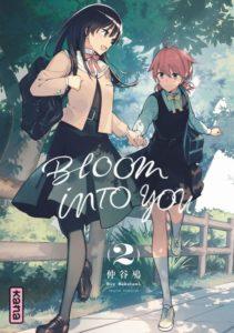 Couverture du tome 2 de Bloom into you