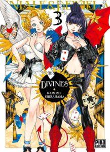 Couverture du tome 3 de Divines - Eniale et Dewiela