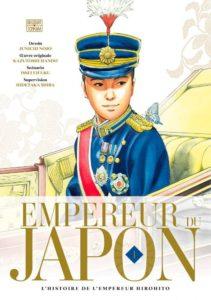 Couverture du tome 1 de Empereur du Japon