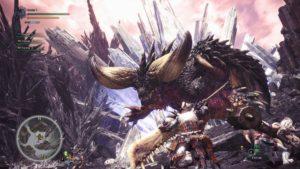 interface monstre combat Monster Hunter