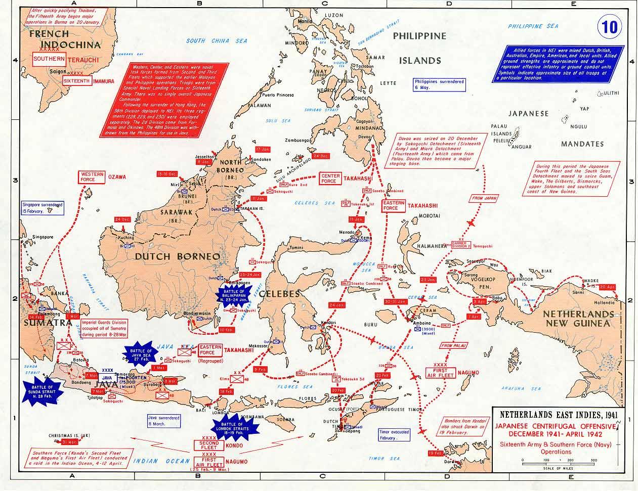 Invasion des Indes orientales néerlandaises