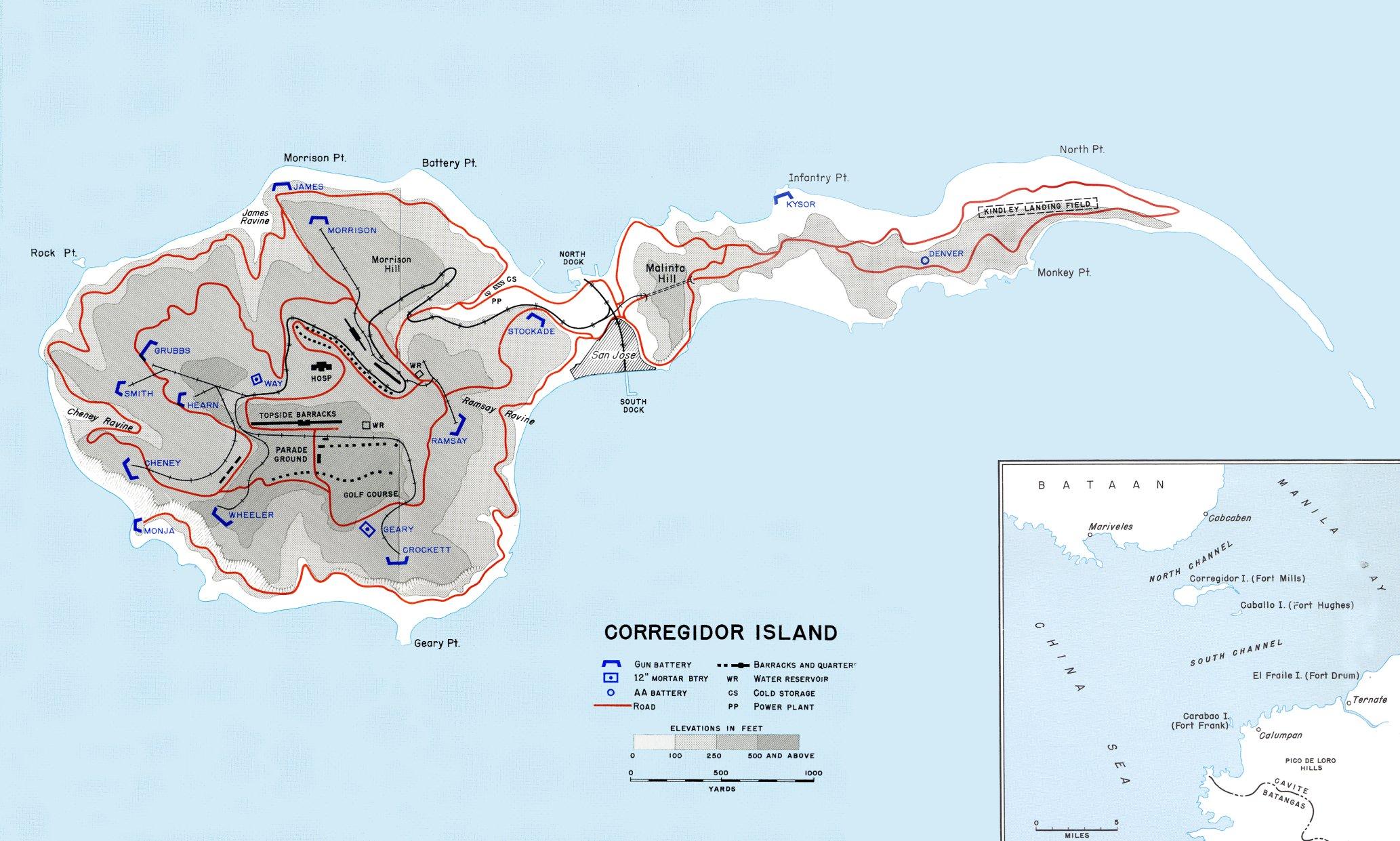 L'île de Corregidor