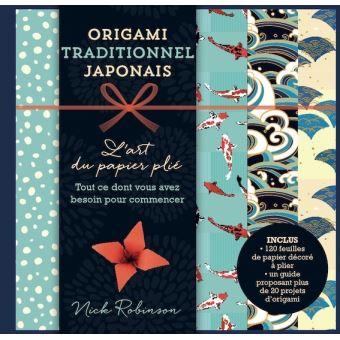 Origami traditionnel japonais de Nick Robinson
