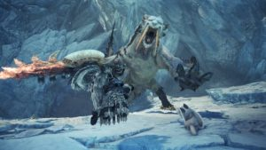 Quête barioth monster hunter iceborne
