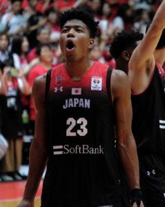 Rui Hachimura, Basket, JO