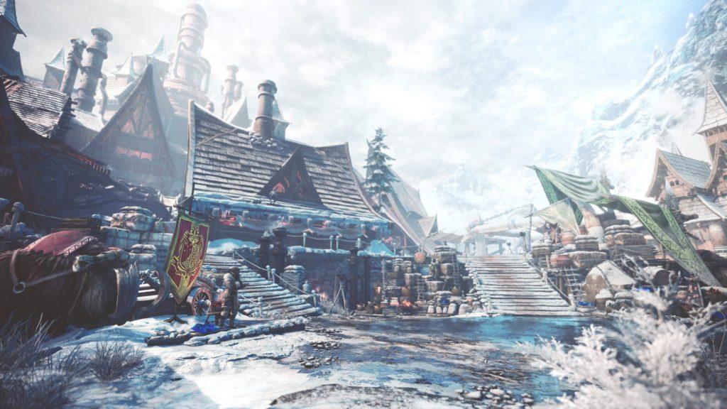 Seliana nouveau village Monster Hunter World Iceborne