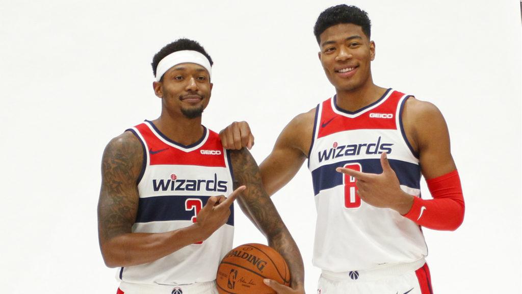 Rui Hachimura, Bradley BEal, Washington Wizards, Basket, NBA