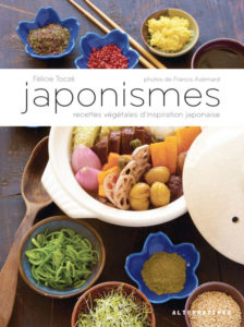 Japonismes version 2016 de Félicie Toczé, éditions Alternatives : couverture