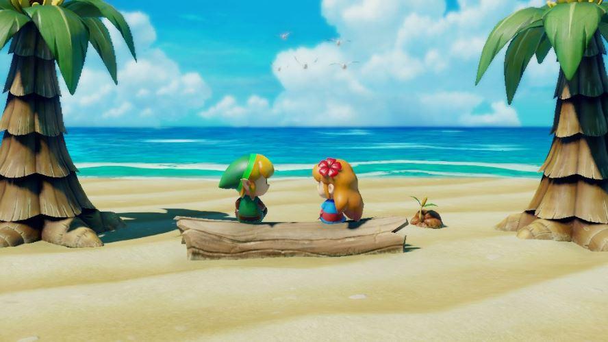 Plage Zelda Link's Awakening